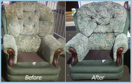 upholstery cleaning image